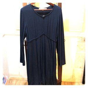 Max Studio Navy Dress Size XL